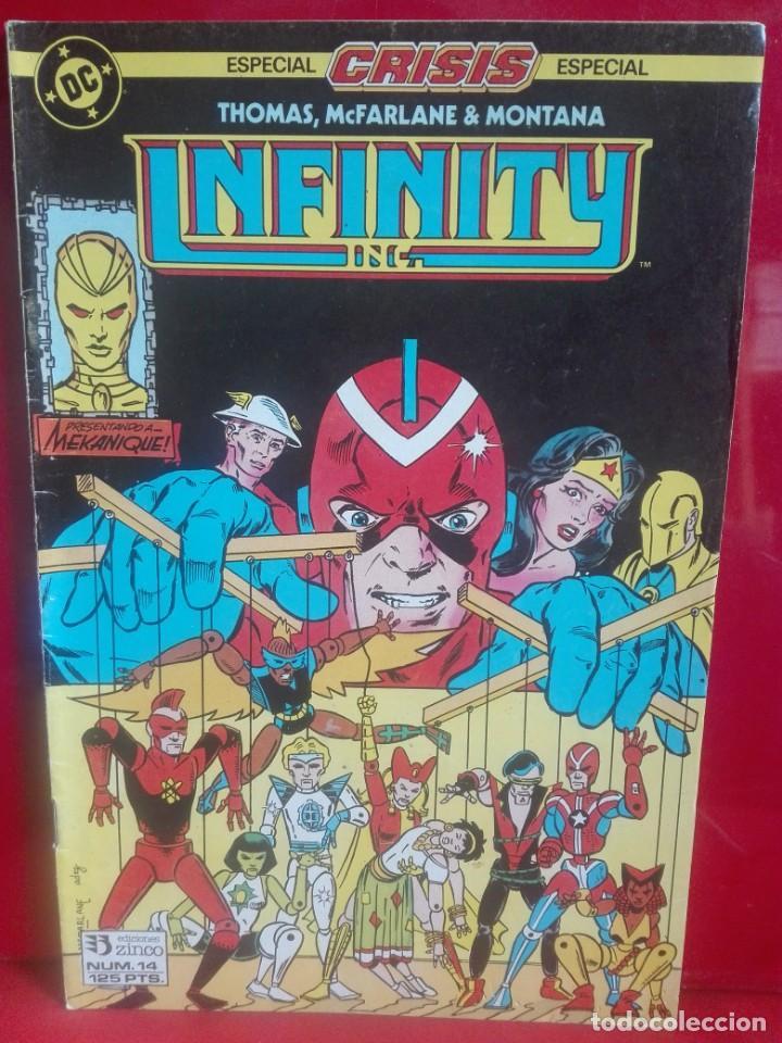 INFINITY INC 14 # O (Tebeos y Comics - Zinco - Infinity Inc)