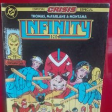 Cómics: INFINITY INC 14 # O. Lote 177262788