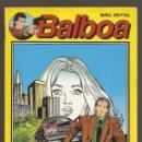 Cómics: BALBOA - MAS BLANCA QUE LA MUERTE - Nº 2 - EDITORIAL ZINCO - 1989 -. Lote 160595278