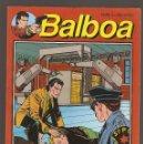 Cómics: BALBOA - MASACRE EN LA CADENA DE MONTAJE - Nº 4 - EDITORIAL ZINCO - 1989 -. Lote 160595478