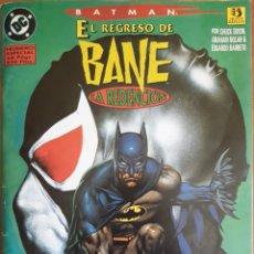 Cómics: COMIC ESPECIAL BATMAN EL REGRESO DE BANE 1995. Lote 160672298