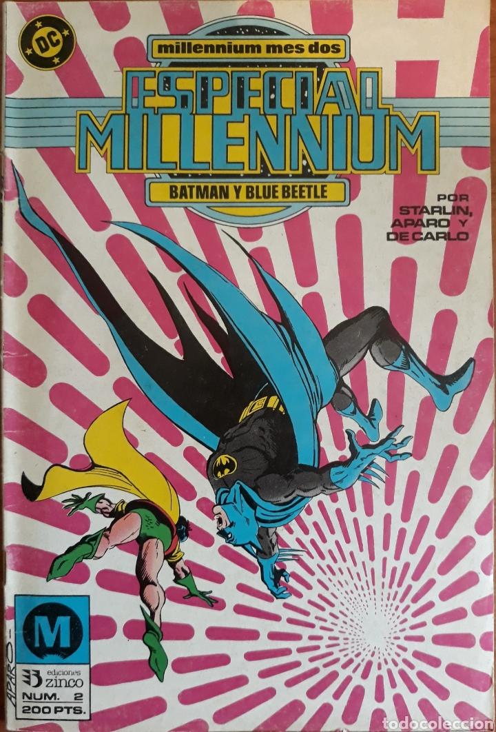 COMIC N°2 ESPECIAL MILLENIUM BATMAN Y BLUE BEETLE 1988 (Tebeos y Comics - Zinco - Millenium)