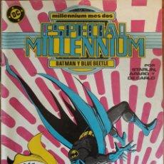 Cómics: COMIC N°2 ESPECIAL MILLENIUM BATMAN Y BLUE BEETLE 1988. Lote 160672821