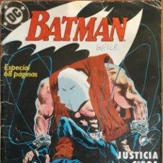 Cómics: COMIC N°1 BATMAN ESPECIAL JUSTICIA CIEGA 1989. Lote 160673352