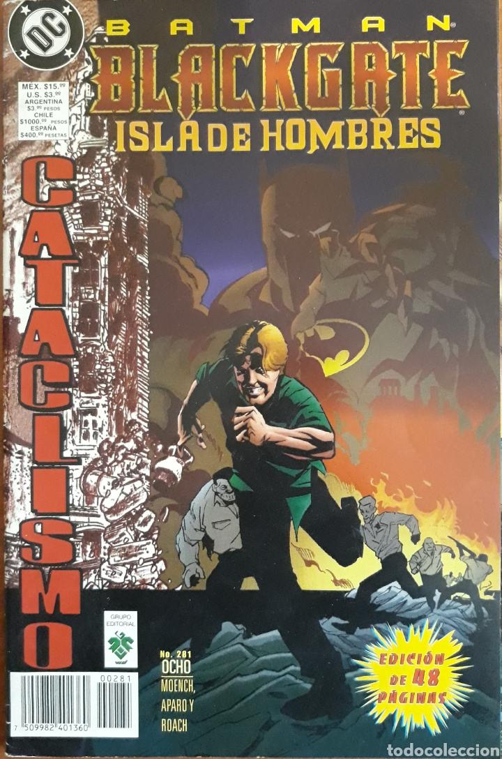 COMIC BATMAN Nº281 BLACKGATE ISLA DE HOMBRES 1998 (Tebeos y Comics - Zinco - Batman)