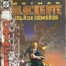 Cómics: COMIC BATMAN BLACKGATE ISLA DE HOMBRES 1998. Lote 160674936