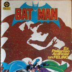Cómics: COMIC N°13 BATMAN ES PELIGROSO ACARICIAR UN FELINO 1983. Lote 160680710
