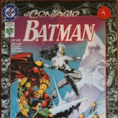 Cómics: COMIC N°245 BATMAN CONTAGIO 1997. Lote 160681296