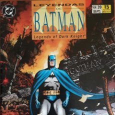 Cómics: COMIC N°39 LEYENDAS DE BATMAN MASK 1992. Lote 160682709