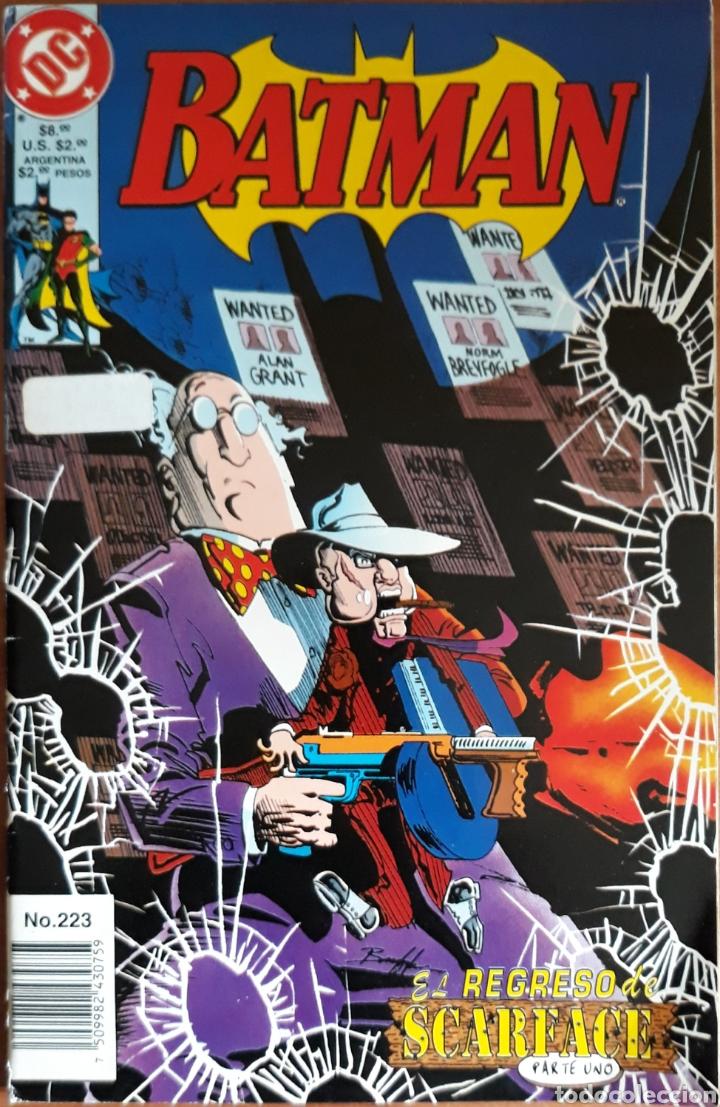 COMIC N°223 BATMAN EL REGRESO DE SCARFACE 1996 (Tebeos y Comics - Zinco - Batman)
