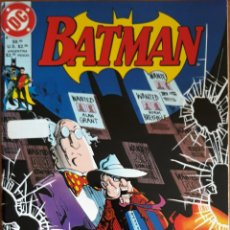 Cómics: COMIC N°223 BATMAN EL REGRESO DE SCARFACE 1996. Lote 160693677