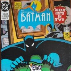 Cómics: COMIC N°10 LAS AVENTURAS DE BATMAN 1993. Lote 160693834