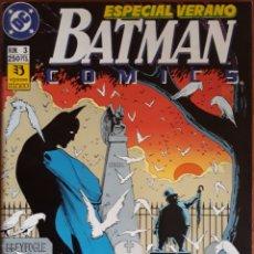Cómics: COMIC N°3 BATMAN ESPECIAL VERANO 1990. Lote 160694388