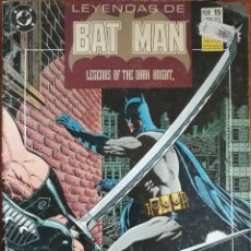 Cómics: COMIC N°15 LEYENDAS DE BAT MAN 1990. Lote 160695740