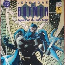 Cómics: COMIC N°20 LEYENDAS DE BATMAN VENENO 1991. Lote 160696693