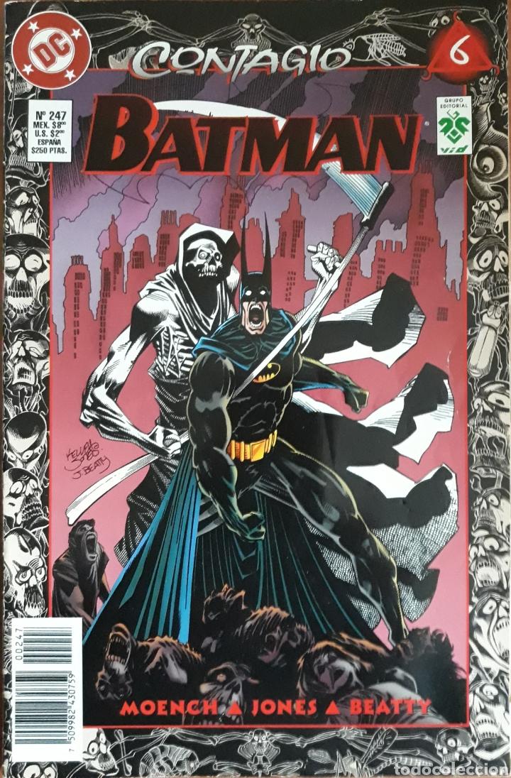 COMIC N°247 BATMAN CONTAGIO 1997 (Tebeos y Comics - Zinco - Batman)