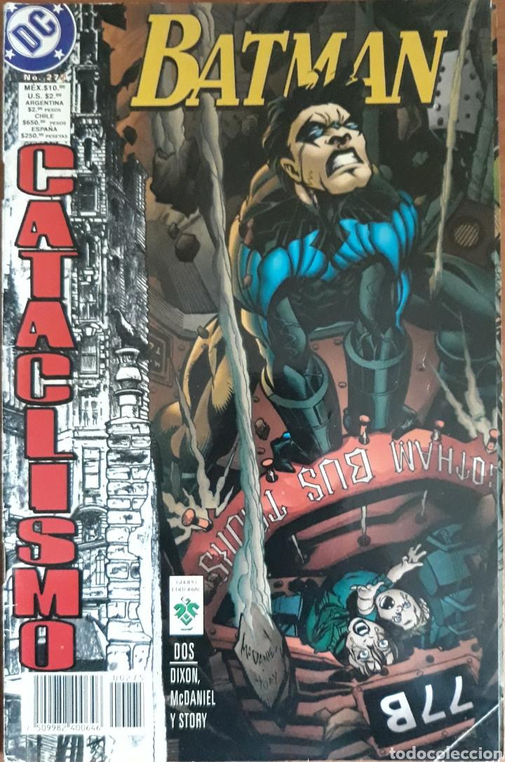 COMIC N°275 BATMAN CATACLISMO 1998 (Tebeos y Comics - Zinco - Batman)