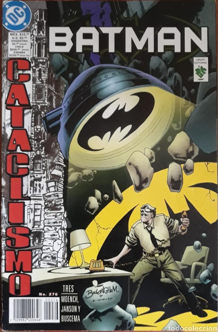 COMIC N°276 BATMAN CATACLISMO 1998 (Tebeos y Comics - Zinco - Batman)