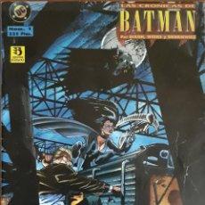 Cómics: COMIC N°1 LAS CRÓNICAS DE BATMAN 1995. Lote 160698404