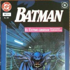 Cómics: COMIC N°201 BATMAN 2/4 EL ÚLTIMO ARKHAM 1994. Lote 160701485