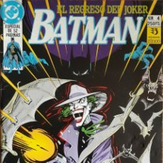 Cómics: COMIC N°4 BATMAN EL REGRESO DEL JOKER ESPECIAL 1990. Lote 160702022