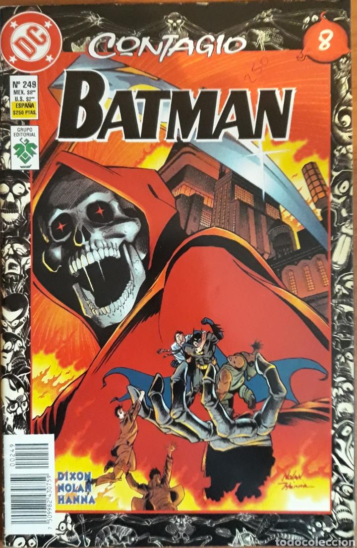 COMIC N°249 BATMAN CONTAGIO 1997 (Tebeos y Comics - Zinco - Batman)