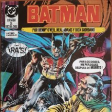 Cómics: COMIC N°21 BATMAN 1988. Lote 160774996