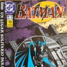Cómics: COMIC N°39 BATMAN 1989. Lote 160775516
