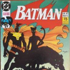 Cómics: COMIC N°47 BATMAN 1990. Lote 160775653
