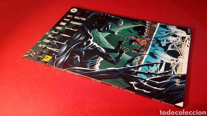 DE KIOSCO SUPERMAN ALIENS LIBRO TRES EDICIONES ZINCO (Tebeos y Comics - Zinco - Superman)