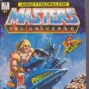 Cómics: JUEGA Y COLOREA CON MASTERS DEL UNIVERSO EDICIONES ZINCO . Lote 161086174
