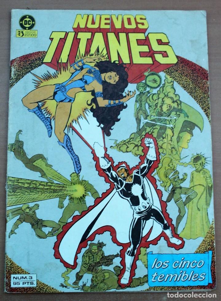 COMIC NUEVOS TITANES - LOS CINCO TEMIBLES (Tebeos y Comics - Zinco - Nuevos Titanes)