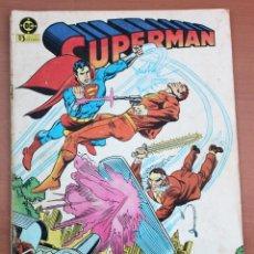 Cómics: CÓMIC SUPERMAN - LE FALTA UN TROCITO DE PORTADA PARTE INFERIOR IZQUIERDA.. Lote 161099858