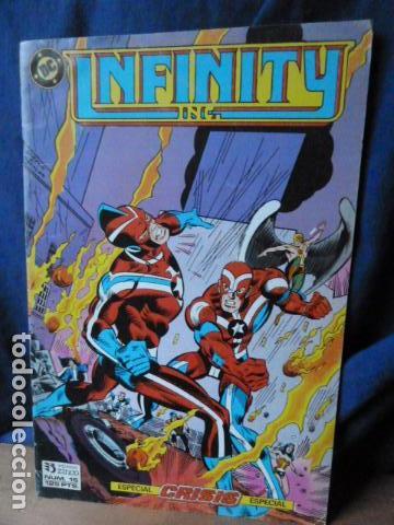INFINITY ING.N.15 (Tebeos y Comics - Zinco - Infinity Inc)