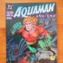 Cómics: AQUAMAN - AÑO UNO - VOLUMEN ESPECIAL 100 PAGS - DC - EDICIONES ZINCO (8W). Lote 161348786