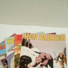 Cómics: KEN PARKER, LOTE DE 5 NUMEROS, SUELTOS A 1,95 €.. Lote 161354298