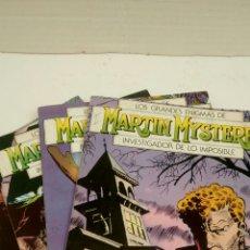 Cómics: MARTIN MYSTERE, LOTE DE 5 NUMEROS, SUELTOS A 1,95 €.. Lote 161355496
