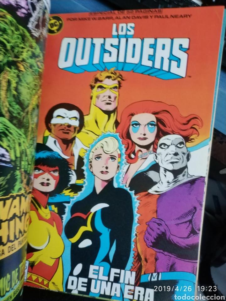 Cómics: RETAPADO DE LOS OUTSIDERS (3 CÓMICS, Nº 24, 26 Y ESPECIAL VERANO 1988 ) - Foto 3 - 161390596