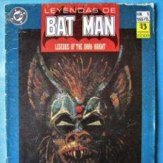 Cómics: LEYENDAS DE BATMAN Nº 1 - ZINCO 1990. Lote 162526210