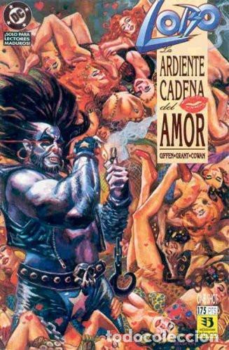 LOBO. LA ARDIENTE CADENA DEL AMOR EDICIONES ZINCO (Tebeos y Comics - Zinco - Lobo)