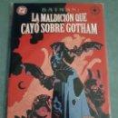 Cómics: BATMAN LA MALDICION QUE CAYO SOBRE GOTHAM NORMA EDITORIAL ESTADO MUY BUENO MIRE MAS ARTICULOS . Lote 163017898