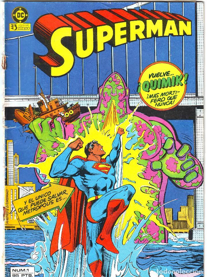 SUPERMAN Nº 1 DE EDICIONES ZINCO (Tebeos y Comics - Zinco - Superman)