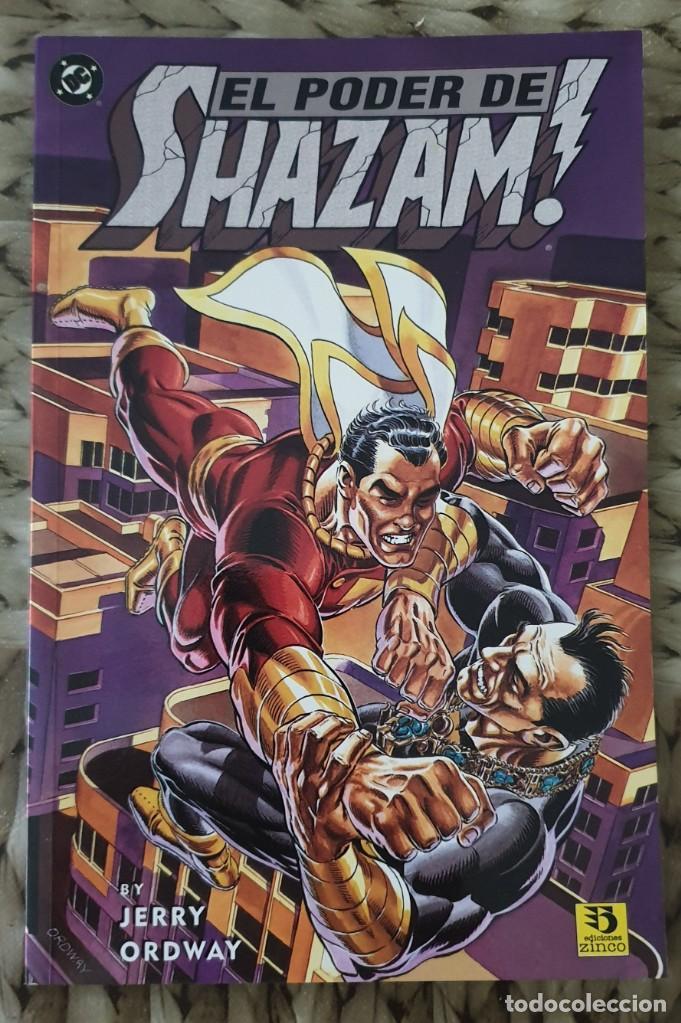 EL PODER DE SHAZAM. NUMERO UNICO. EDICIONES ZINCO 1995 (Tebeos y Comics - Zinco - Superman)