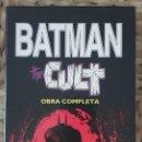Cómics: BATMAN. THE CULT. OBRA COMPLETA (4 TOMOS + ARCHIVADOR) EDICIONES ZINCO 1989. Lote 163757854