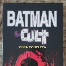 Cómics: BATMAN. THE CULT. OBRA COMPLETA (4 TOMOS + ARCHIVADOR) EDICIONES ZINCO 1989. Lote 163757854