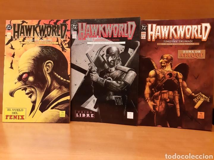 HAWKWORLD 1 AL 3 COMPLETA TIMOTHY TRUMAN, ALCATENA Y SAM PARSONS (Tebeos y Comics - Zinco - Prestiges y Tomos)