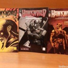 Cómics: HAWKWORLD 1 AL 3 COMPLETA TIMOTHY TRUMAN, ALCATENA Y SAM PARSONS. Lote 164664214