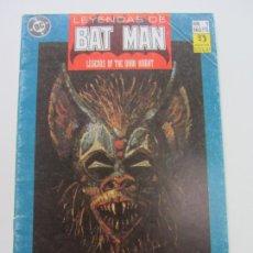 Cómics: LEYENDAS DE BATMAN Nº 1 - ZINCO 1990 C9. Lote 164880582