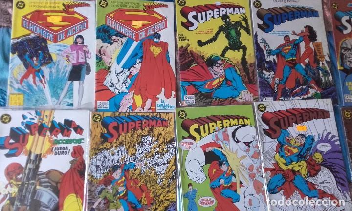SUPERMAN VOL. 2, 15 NÚMEROS DE ZINCO + TOMO RETAPADO (Tebeos y Comics - Zinco - Superman)