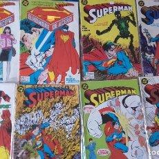 Cómics: SUPERMAN VOL. 2, 15 NÚMEROS DE ZINCO + TOMO RETAPADO. Lote 164904134